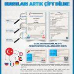 MYK Mesleki Yeterlilik Belgeleri ve Kimlik Kartları Artık Çift Dilde!